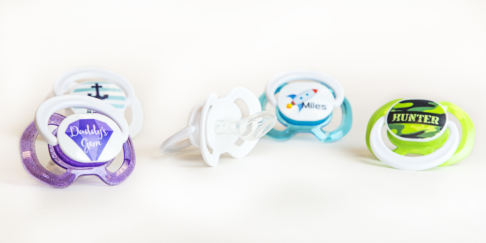 3 FREE Custom Pacifiers - Just...
