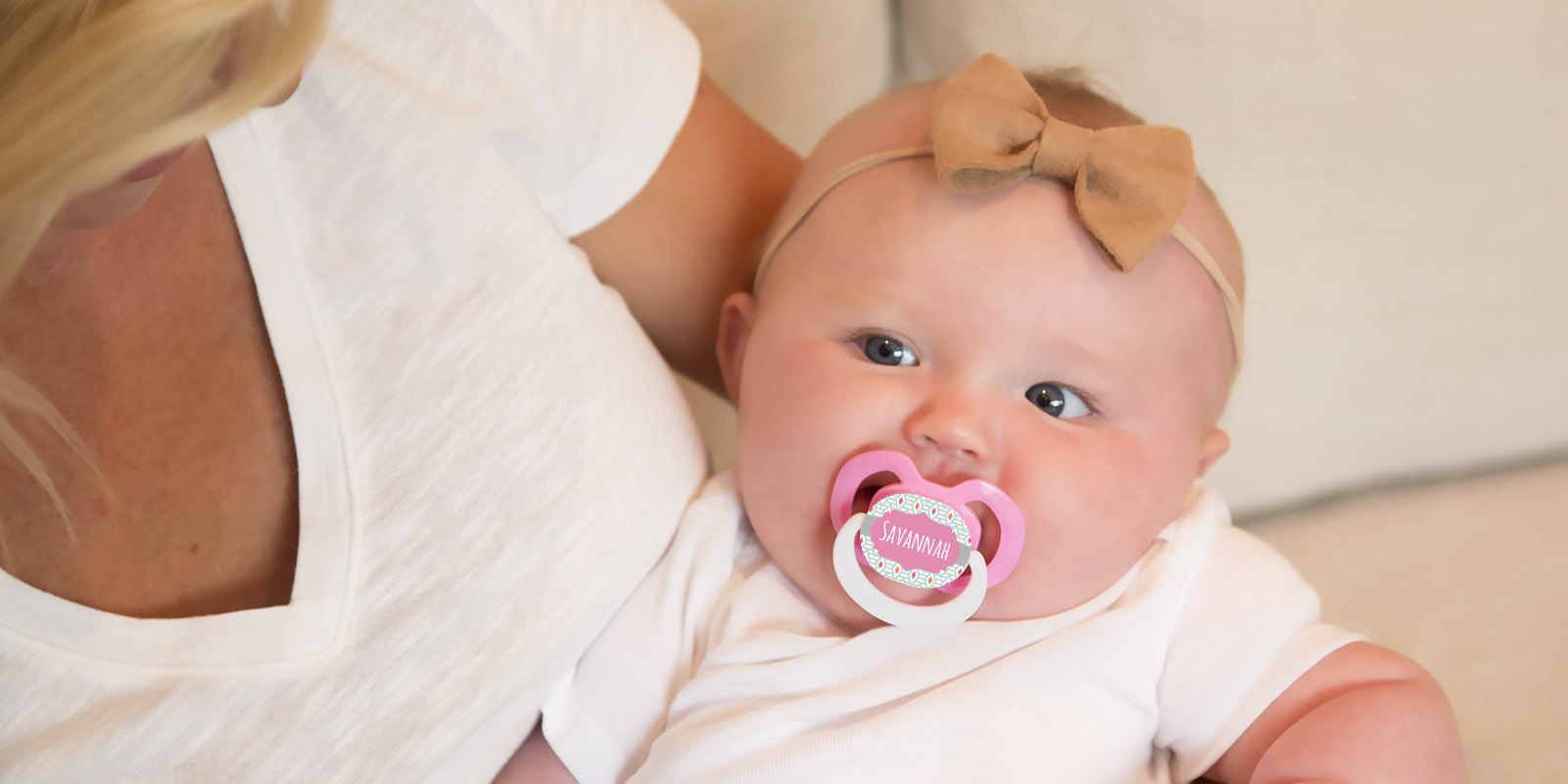 3 FREE Custom Pacifiers from M...